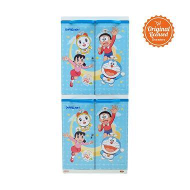 Doraemon MSC Printing Premium Lemari Anak [Kunci]