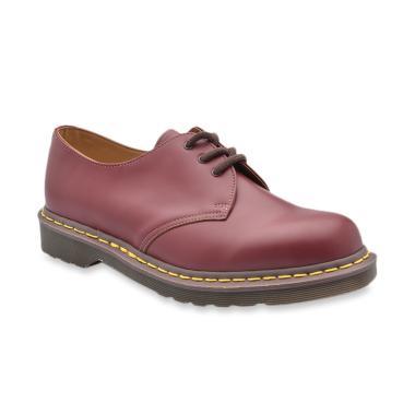 Dr. Martens Vintage Oxblood Sepatu Boot Pria  1461  b6aeb503bd
