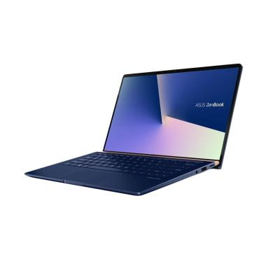 harga Asus Zenbook UX433FA-A5821T Notebook - Royal Blue [I5-8265U/8GB/512GB SSD/ 14 Inch FHD/ Win 10] Blibli.com