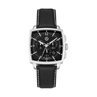 harga Mercedes-Benz Classis Carre Chronograph Jam Tangan Pria - Black [Original] Blibli.com