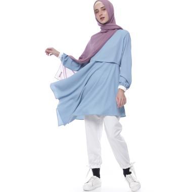 Model Baju Gamis Syari Setelan Hijab Modern Modis Terbaru ... 6ff109d697