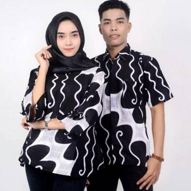 King Projo Motif Parang Baju Batik Couple