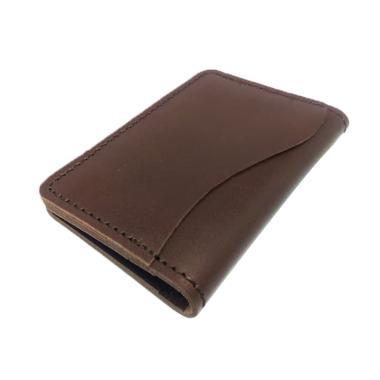 Whiteblue Kulit Model Lipat Dompet Kartu