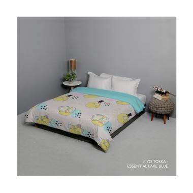 King Rabbit Motif Piyo Bed Cover