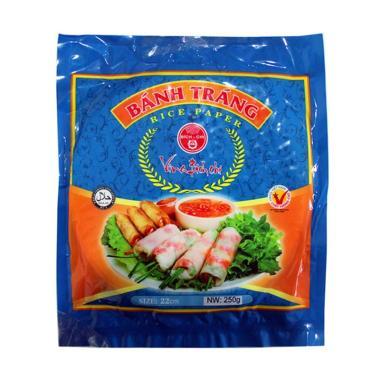 harga 250gr Kulit Lumpia / Vietnam Rice Paper diameter 22 cm - BPOM - BIRU Blibli.com