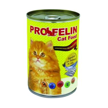 harga Cleine Tadita Petshop - PROFELIN Sardines with Salmon In Jelly Wet Makanan Kucing [400 g] Blibli.com