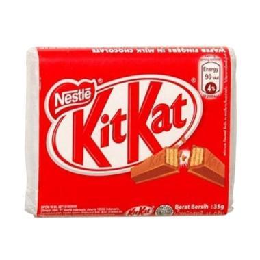 harga KitKat 4 Finger Coklat [35 g] Blibli.com