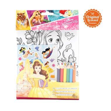 Disney Crseps 004 En Princess Coloring Set