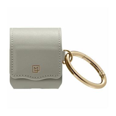 Spigen La Manon Leather Pouch Casing for Apple Airpods 2/1 Case