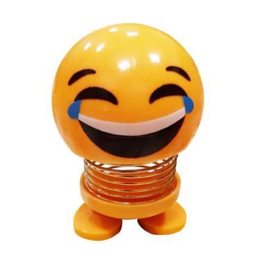 OEM Emoji Boneka Dashboard Mobil