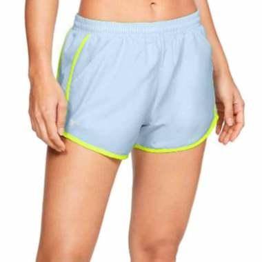 UNDER ARMOUR Women Running Short Fly By Short Celana Olahraga Wanita [1297125-451] S -