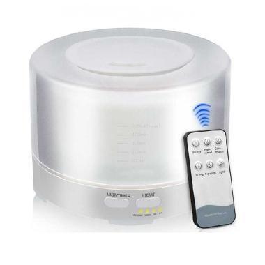 harga Taffware HUMI - H14A 7 Color Humidifier [500 mL] + Remote Control putih Blibli.com