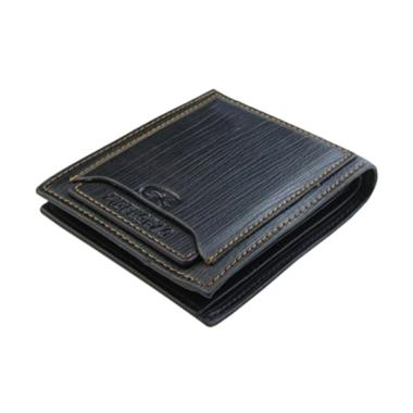 harga Bluelans Classic Faux Leather Money Credit or ID Card Holder Slim Purse Men's Bifold Wallet Blibli.com
