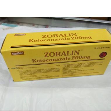 Pharos Zoralin Tablet Obat Jamur Panu Obat Kesehatan & Klinik