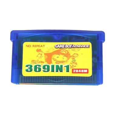 harga Bluelans 369 in 1 US Version Game Cartridge Gaming Card for Nintendo GameBoy Advance Blibli.com