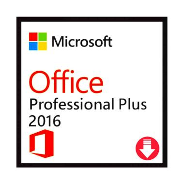 harga Microsoft Office 2016 Profesional Plus 32/64bit Software Lisensi [Original] Blibli.com