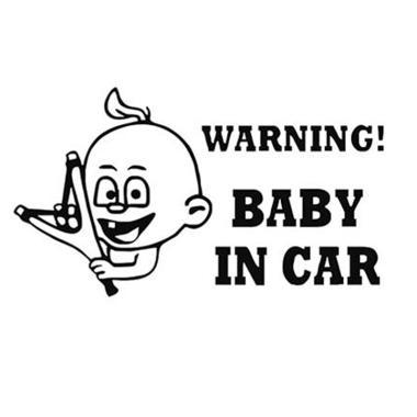harga Bluelans #14 Baby on Board Car Vehicle Body Window Decals Sticker Decoration Blibli.com