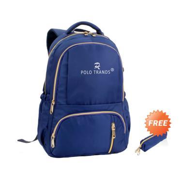 harga Polo Trands 36122 Backpack Wanita + Free Pouch Kosmetik Blibli.com