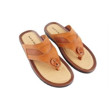 harga Josh & Joe New Elegant Casual Sandal Pria - Brown Blibli.com