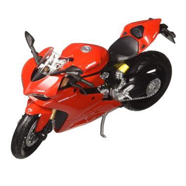 harga Maisto Motor Ducati 1199 Panigale Diecast - Red [Skala 1:12] Blibli.com