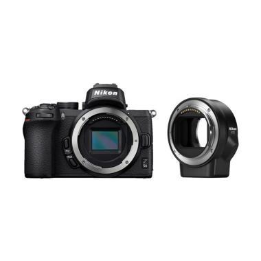 harga BKP Nikon Z 50 and FTZ Mount Adapter Free SDHC 16GB + Z Camera Bag + SmallRig + Tripod (By Claim) Black Blibli.com