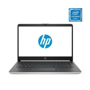 HP 14S-CF1051TU Notebook - Silver [N4205U/4GB/512GB SSD/UMA/14 Inch/Win10]