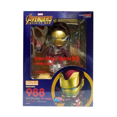 harga Nendoroid 988 Iron Man Mark 50 Nendo Infinity Action Figures [Edition Recast] Blibli.com
