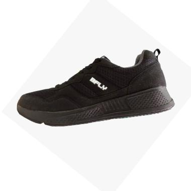 harga BFLY Dash Sepatu Olahraga Pria - Black Blibli.com