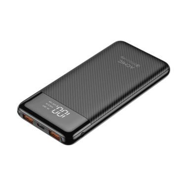 Power Bank ACMIC F10PRO 10000 mAh (Digital Display + QC 3.0 + PD Power Delivery) - Black + Garansi 18 bulan