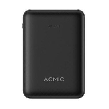 ACMIC B10 Mini PowerBank - Hitam [10000 mAh/ 2A/ Fast Charge Input & Output]