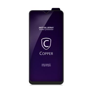 harga Copper Indonesia Blueray Premium Tempered Glass Screen Protector for Samsung Galaxy A8 2018  [Full Glue] Blibli.com
