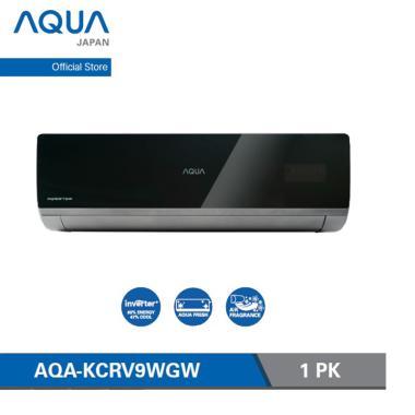 harga Aqua Japan AQA-KCRV9WGW Smart Inverter AC Split - Black [1 PK] Blibli.com