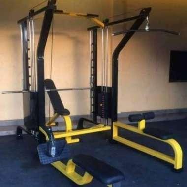harga Idachi Smith Machine Lattpull Down Plus Rowing Peralatan Fitness Blibli.com