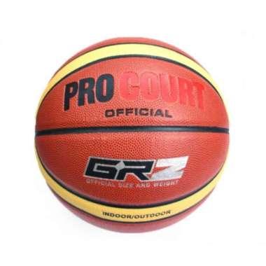 harga Pro Court GRZ Basket Ball - Brown Blibli.com