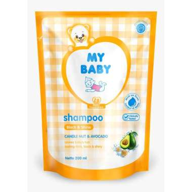 harga My Baby Shampo Bayi Avocado Black Shine [200 mL/ Refil] Blibli.com