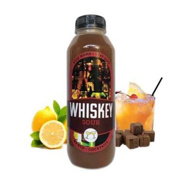 Bali Pick Fresh Whiskey Sour Cocktail Minuman [500 mL]