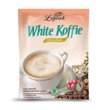Luwak White Cofee Kopi Instan [20 gr/ 10 sachet]