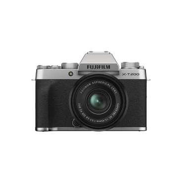 harga JKLensa Kamera Fujifilm XT200 X-T200 Fuji XT200 X-T200 kit 15-45 mm + Free Sandisk SDHC 16GB Kamera Mirrorless Garansi Resmi silver Blibli.com