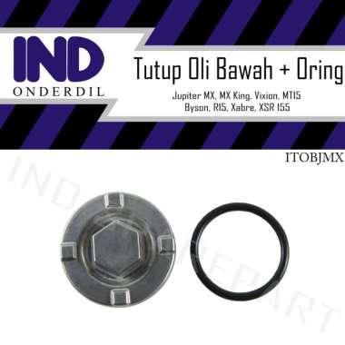 harga IND Onderdil Baut Tutup Pembuangan Oli Bawah Motor for Yamaha Vixion Old - NVA - NVL - New & R 155 Blibli.com