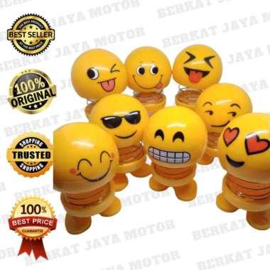 harga Berkat Jaya Motor Sby Boneka Kepala Besar Emoticon Goyang Aksesoris Motor Blibli.com