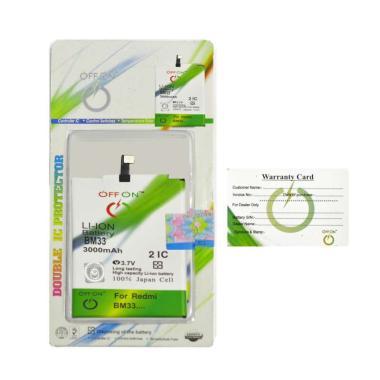 harga OFFON BM33 Baterai Handphone for Xiaomi Mi4i Blibli.com