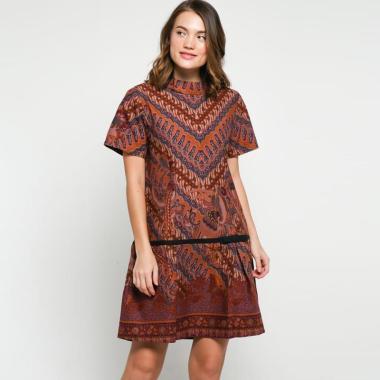 BATIK ANDELLY 02 01 DRESS  PANJANG WANITA