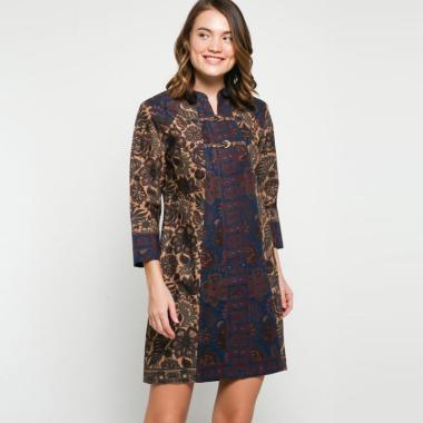 Andelly Batik 02 06 Dress Panjang Wanita