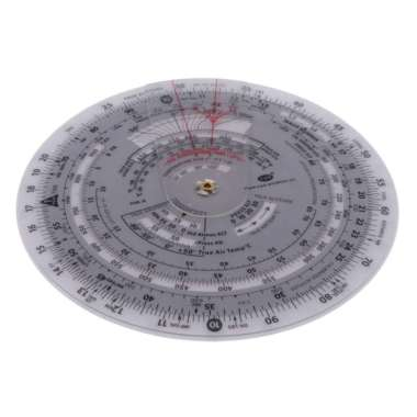harga 15.2cm Dia Plastic Round Rotating Chart Plotter for Flight Training Tool - Blibli.com