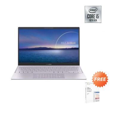 Asus UX325JA-BM502T Notebook - Lilac Mist [i5-1035G1/ 512G PCIe/ 8GB DDR4/ NO ODD/ UMA/13.3 Inch FHD backlight KB/ WIN 10 home + OHS 2019 / NUMBERPAD]