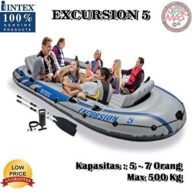 harga PERAHU BOAT INTEX TYPE EXCURSION 5/INFLATABLE BOAT / PERAHU KARET Blibli.com