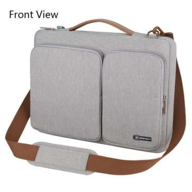 harga Tas Laptop BRINCH Grey Executive with Long Strap 14 inch Blibli.com