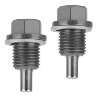harga 2PCS M14x1.5 Durable Anodized Magnetic Engine Oil Drain Plug Screw Titanium Blibli.com