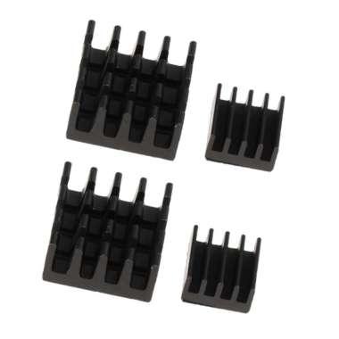 harga 2 Set Aluminum Heatsink Cooler Kit for Cooling Raspberry Pi 14 x 14x 4mm - Blibli.com