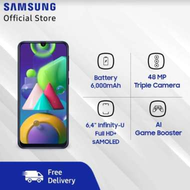Samsung Galaxy M21 Ram 4/64 Garansi Resmi Black